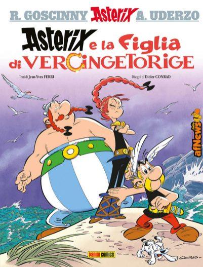 Asterix e la figlia di vercingetorige LOW-afnews