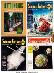 Astounding Science Fiction Plus Group of 25 (1942-53)-afnews