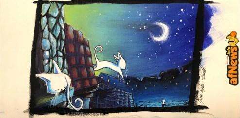 Feroldi la lune a i gatti-afnews