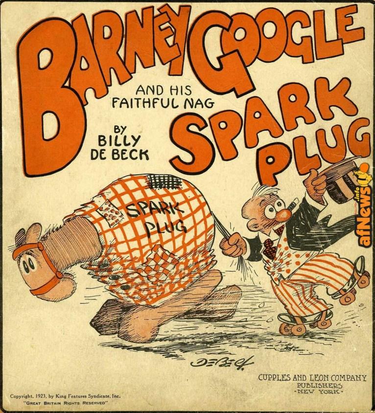Barney Google Spark Plug-afnews
