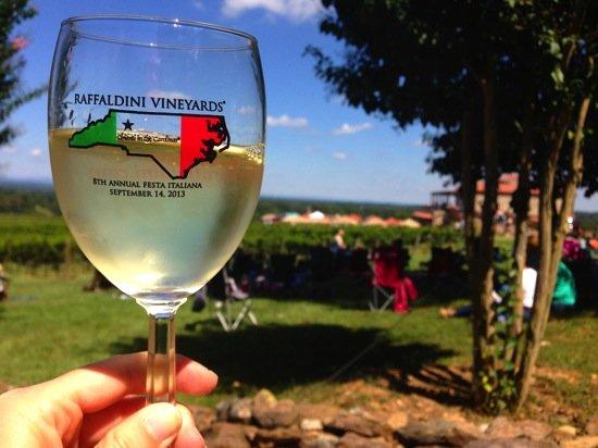 NC Raffaldini Vineyards Italian Festival
