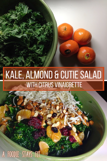 salad with clementines and almonds