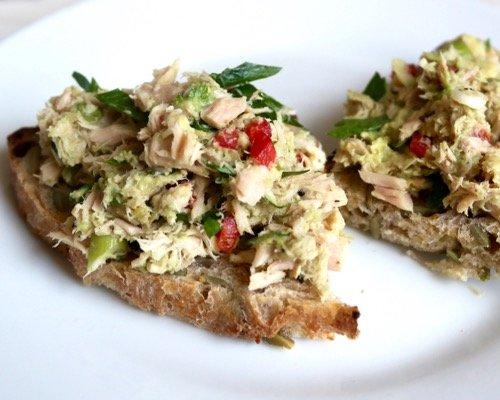mayo-free tuna salad