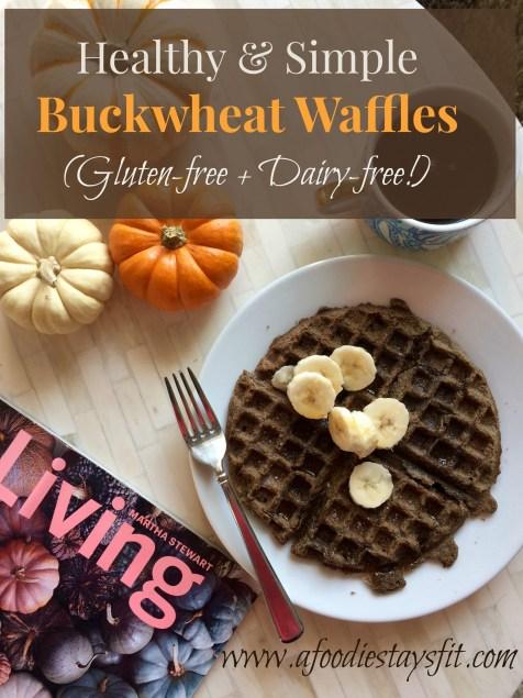 Gluten Free Buckwheat Waffle Recipe