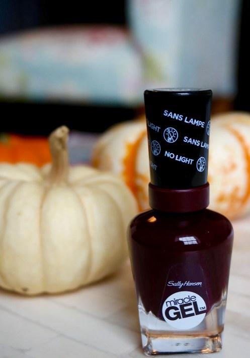 Sally Hansen Miracle Gel Wine Stock