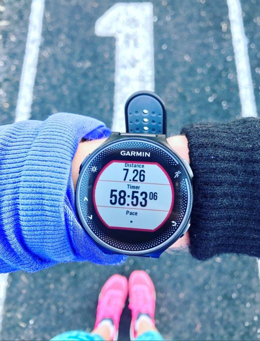 how big is the garmin forerunner 235