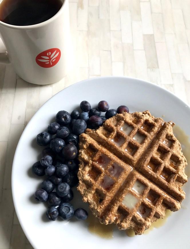 easy whole grain waffles