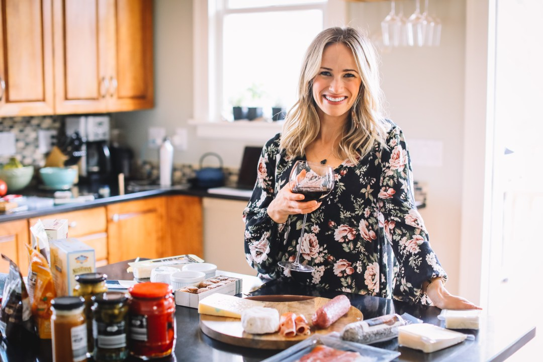 hosting wine and cheese party