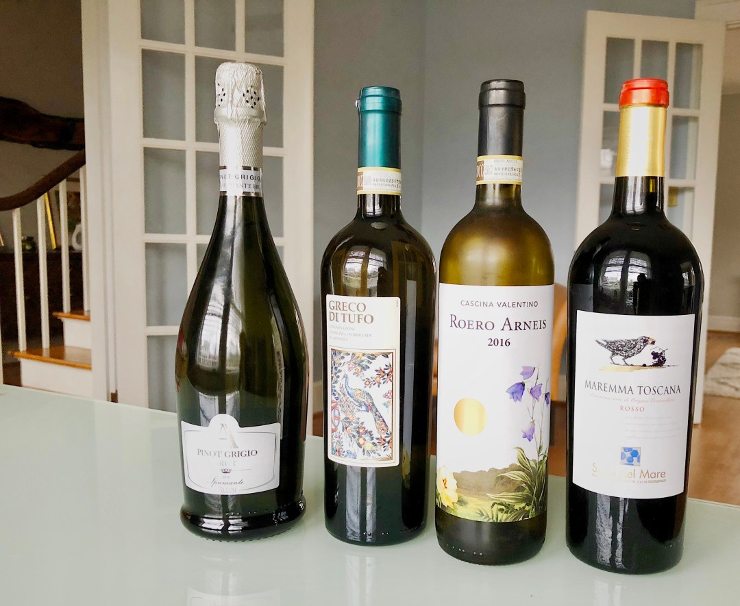 wines with charcuterie board