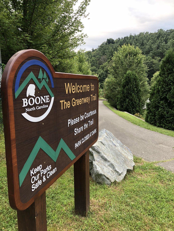 Boone North Carolina Greenway