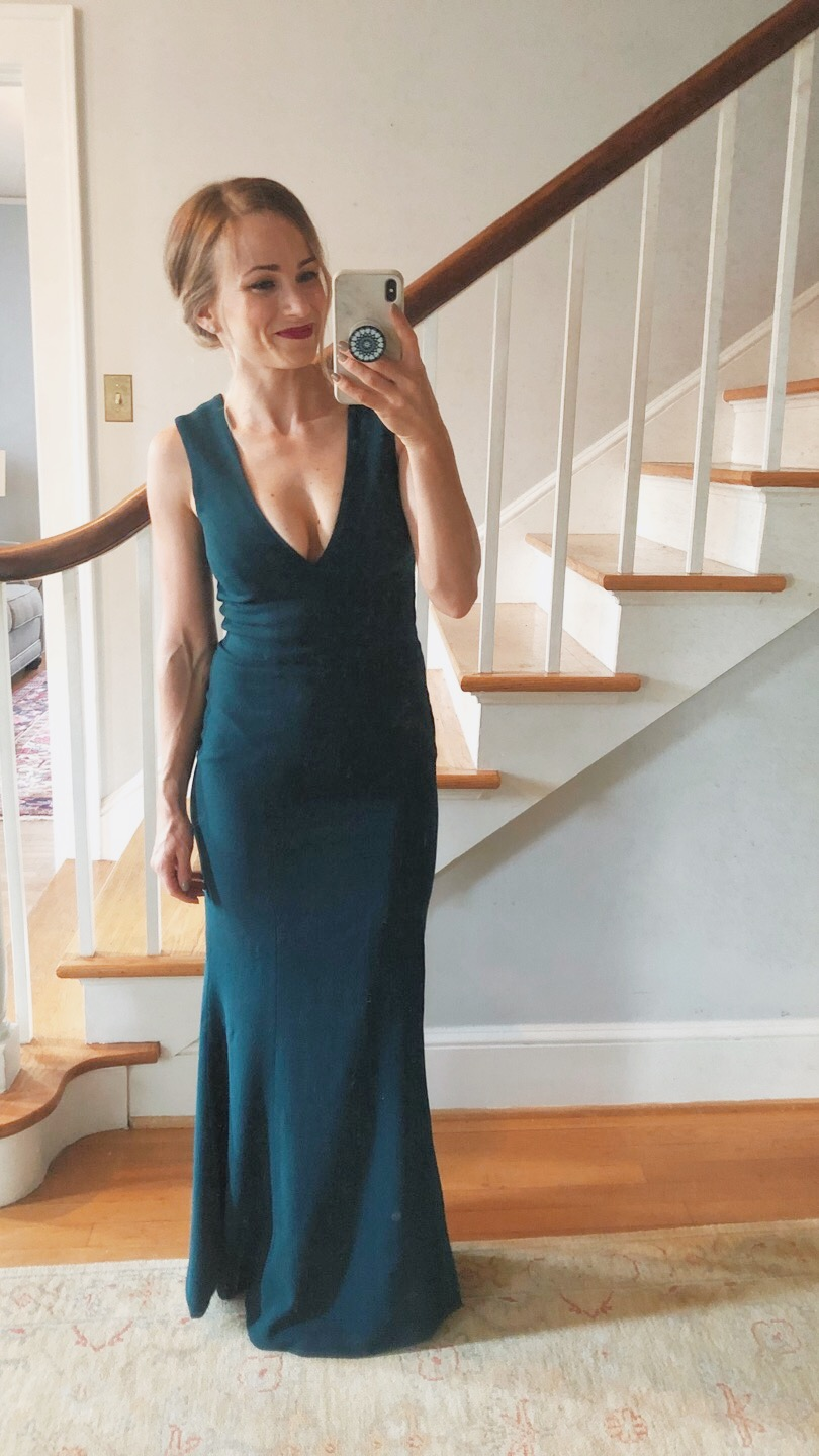 My favorite petite gown from Nordstrom + Humane Society Furr Ball