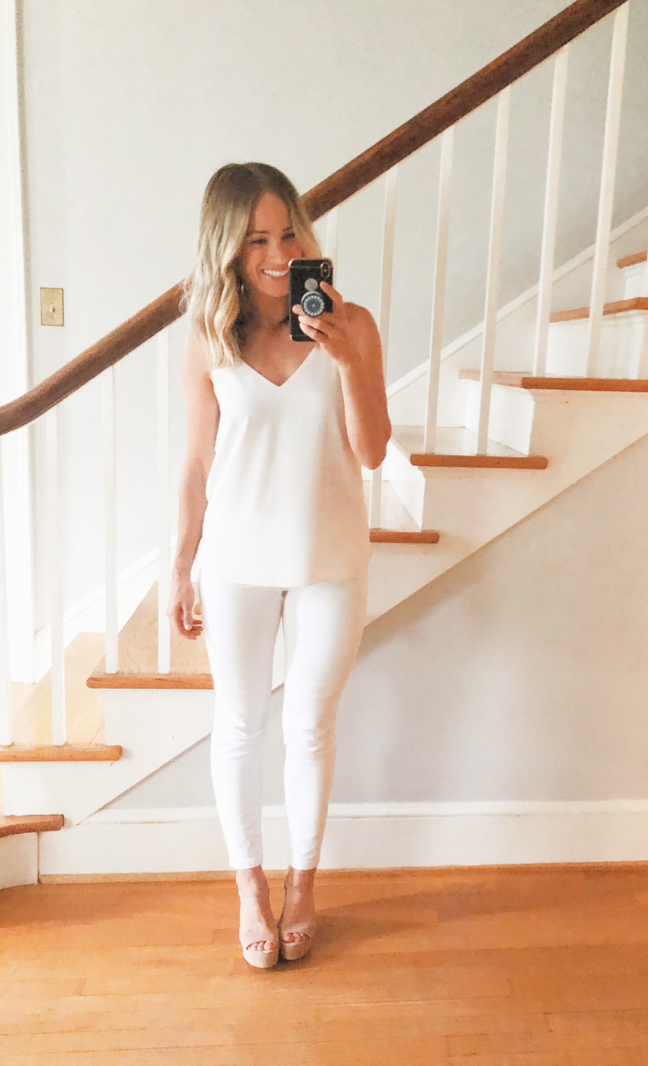 best white jeans | white jeans review