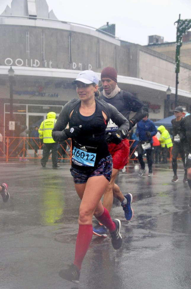 2018 boston marathon weather