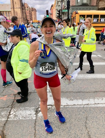 boston marathon race medal