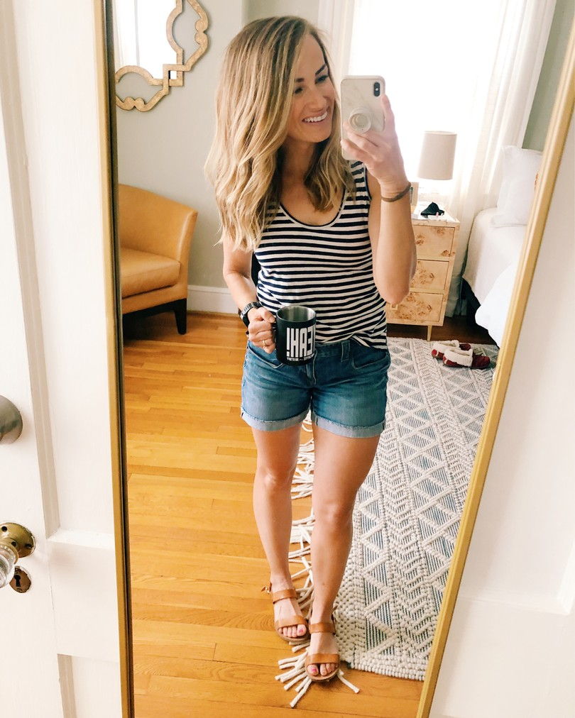 jeans shorts outfits