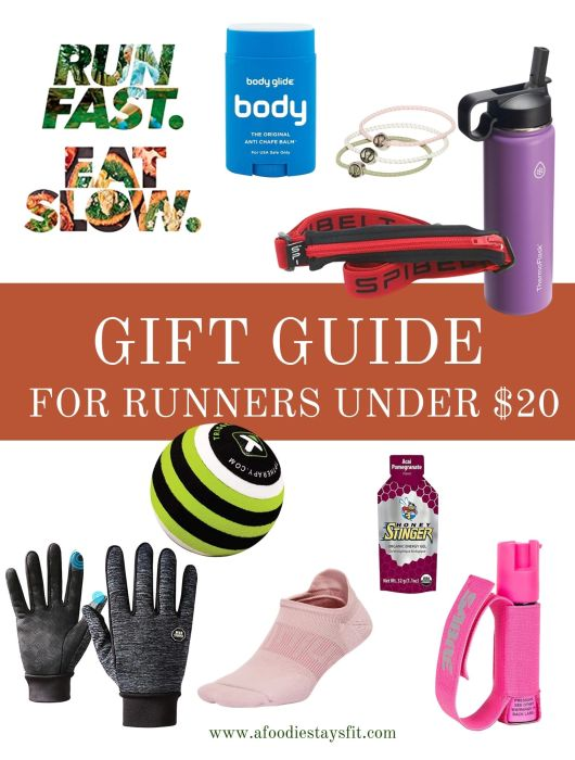 Gift Guide for Runners under $20