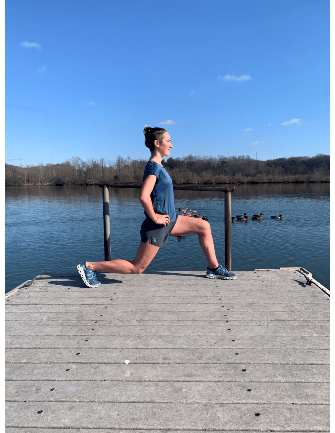 lunges posture