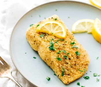 Halibut from A Foodie Stays Fit