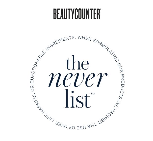 Beautycounter Never List