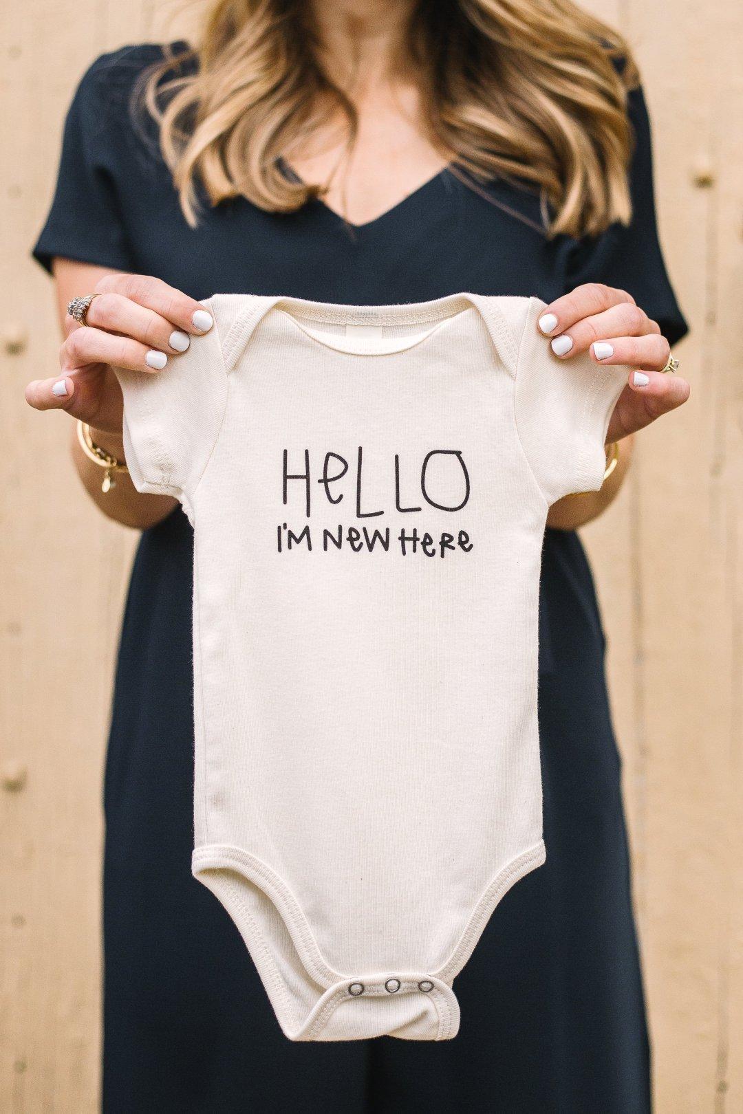 A little news + pregnancy announcement