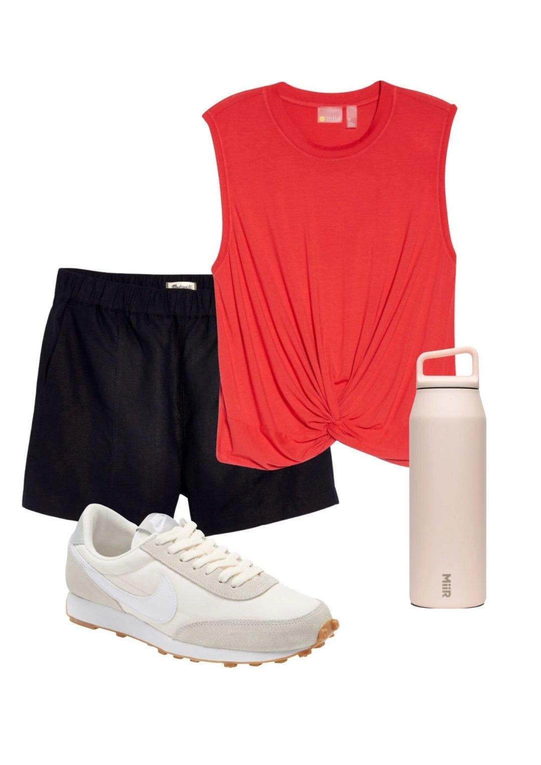 summer athleisure fashion