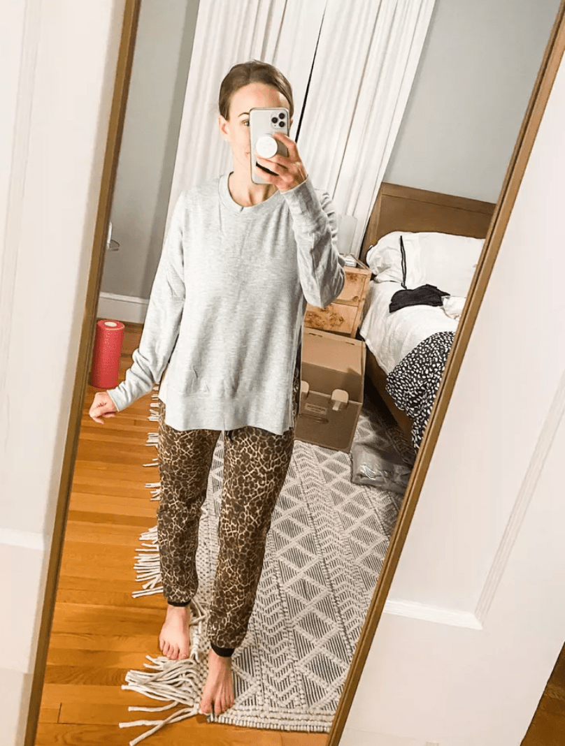 this top from my February Trunk Club