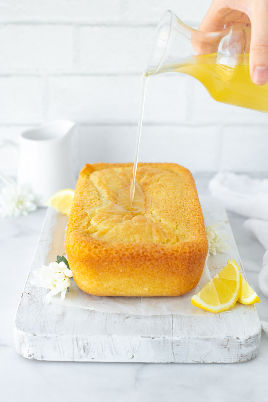 Dairy-free Simple Lemon Yogurt Cake