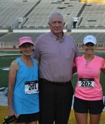 Mom and daughter marathon