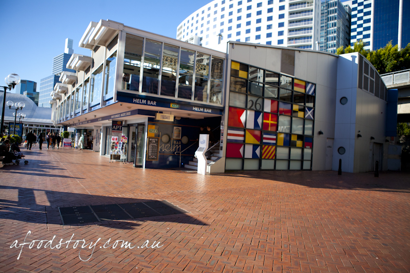 Helm Bar Darling Harbour A Food Story
