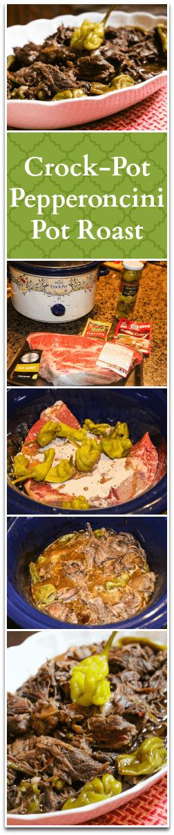 Crock-Pot Pepperoncini Pot Roast Recipe - A Fork's Tale