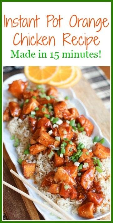 15 minute instant pot orange chicken recipe make this instant pot orange chicken recipe in 15 minutes it is an easy forumfinder Gallery