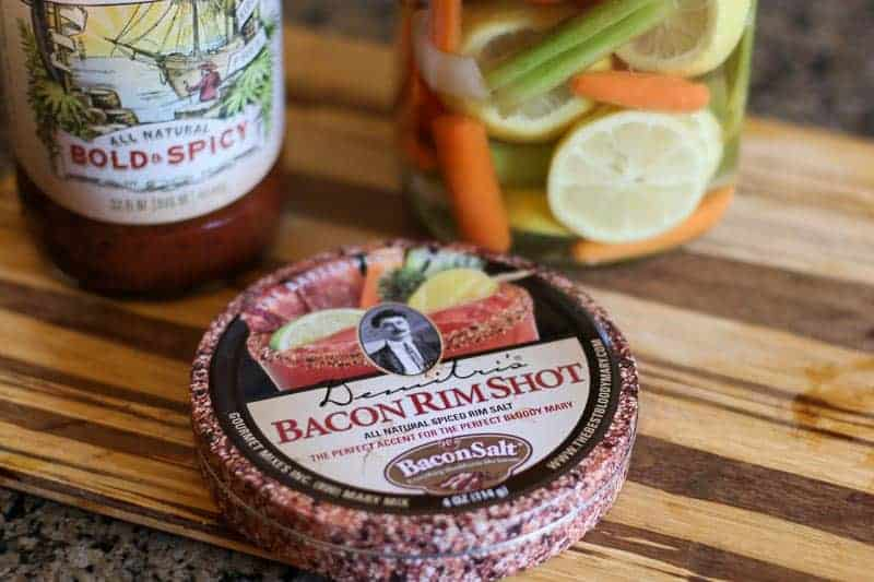ThisThis Bacon Rim Salt is seasoned with all kinds of tasty salt seasonings mixed in with a real bacon taste. Who doesn't love bacon? And yes the bacon and Bloody Mary is WICKED GOOD!
