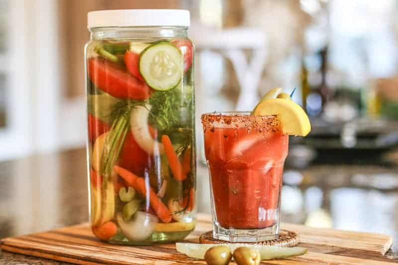 The Best Vegetable Infused Vodka for Bloody Mary Recipe