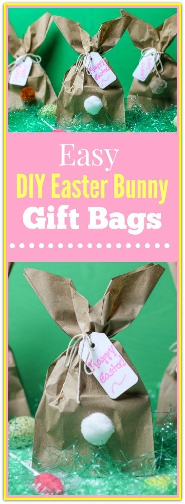 Need a clever, easy Easter Bunny Craft idea? How about making these fun Easy DIY Easter Bunny Gift Bags? Turn a paper bag in to these cute little bunny butts. They are perfect little Easter gift bags for classmates, Sunday School, family, and friends. Need a clever, easy Easter Bunny Craft idea? How about making these fun Easy DIY Easter Bunny Gift Bags? Turn a paper bag in to these cute little bunny butts. They are perfect little Easter gift bags for classmates, Sunday School, family, and friends.