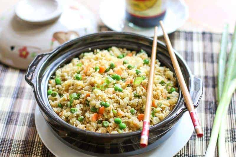 Who doesn't love fried rice? What if you can make a low carb, gluten free version with the same great taste? Impossible? Absolutely not! This recipe on how to make cauliflower fried rice incorporates all the yummy flavors of the traditional fried rice recipes, but is cooked healthy and delicious.