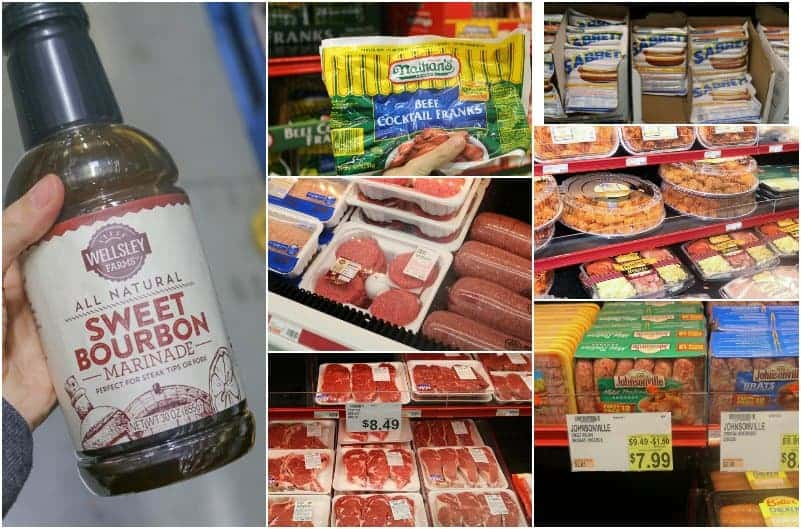 Great Selection of meats for barbecues at BJ's #ad