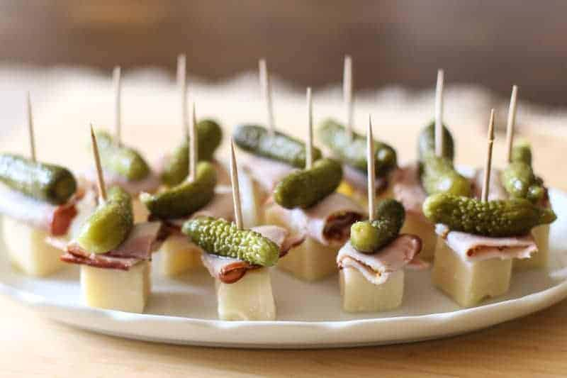 ThisCuban Sandwich On A Stick Appetizer is so quick and easy to make. With only 4 ingredients, this is the perfect little party food.