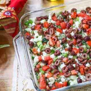 Greek Seven Layer Dip Recipe
