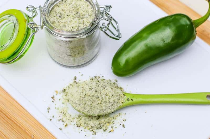 Homemade Jalapeño Salt Recipe