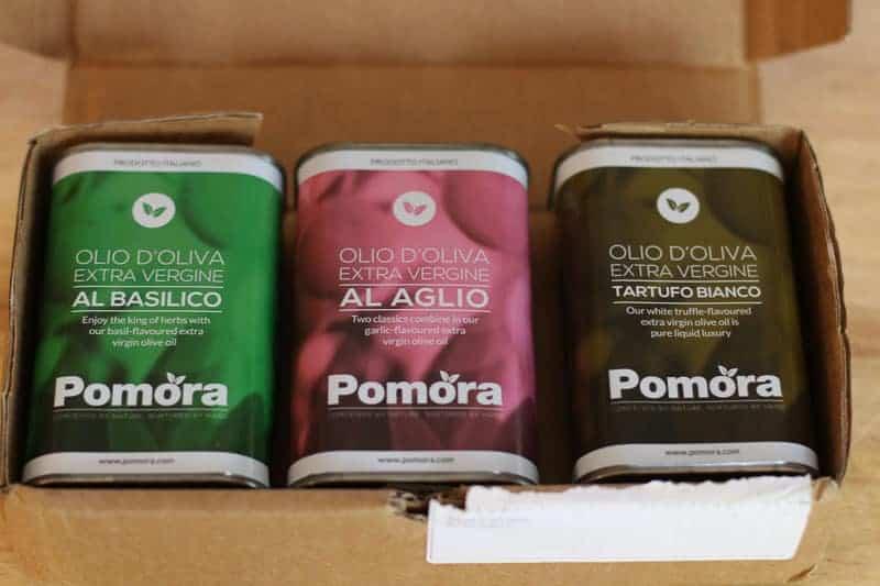 Pomora Olive Oil Fall Shipment