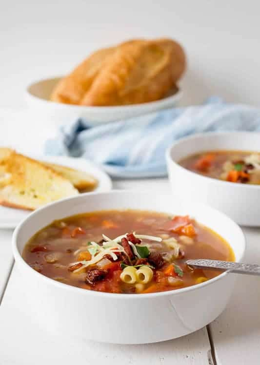 Pasta e Fagioli from Beyond the Chicken Coop