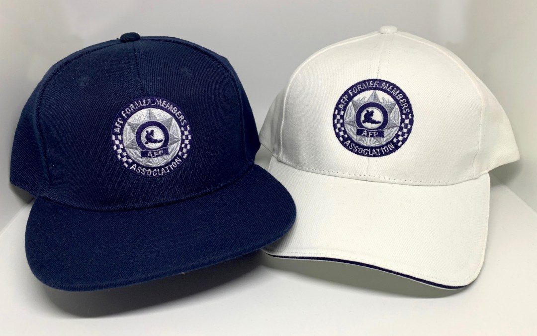 Caps now available in store