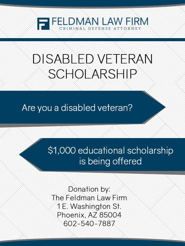 2017 disabled vet scholarship
