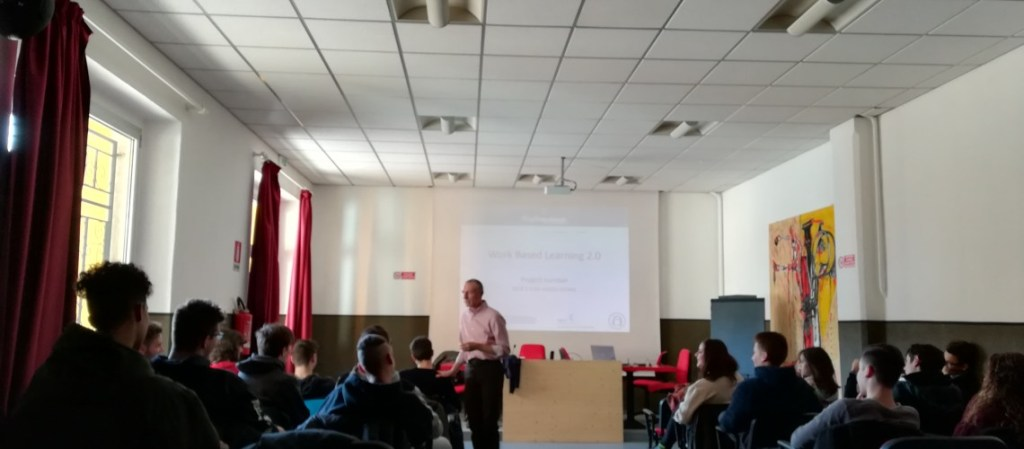 AFP partecipa al progetto Erasmus + WBL 2.0