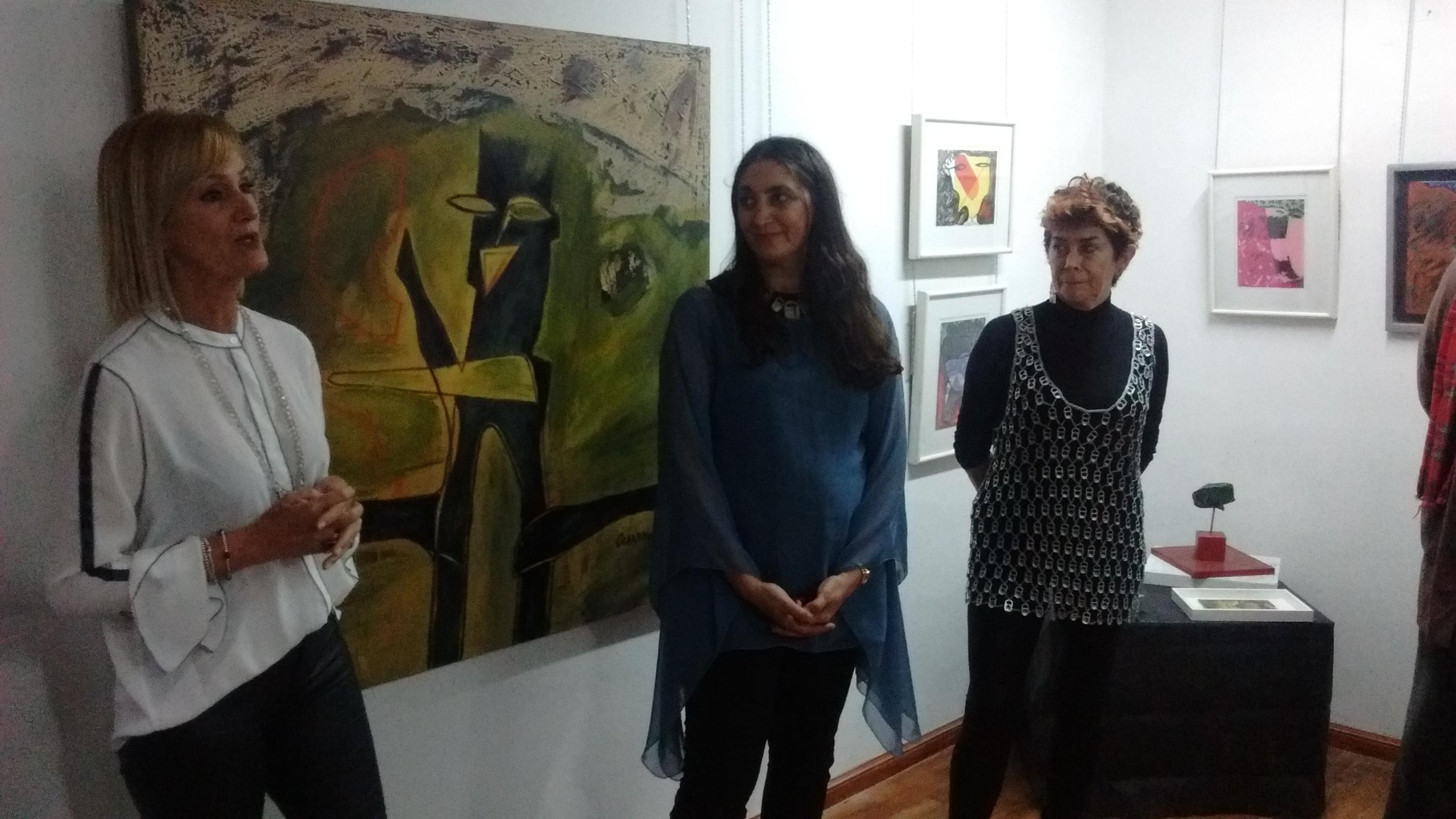 Inauguración de la Galería de Arte «Sara Faisal»