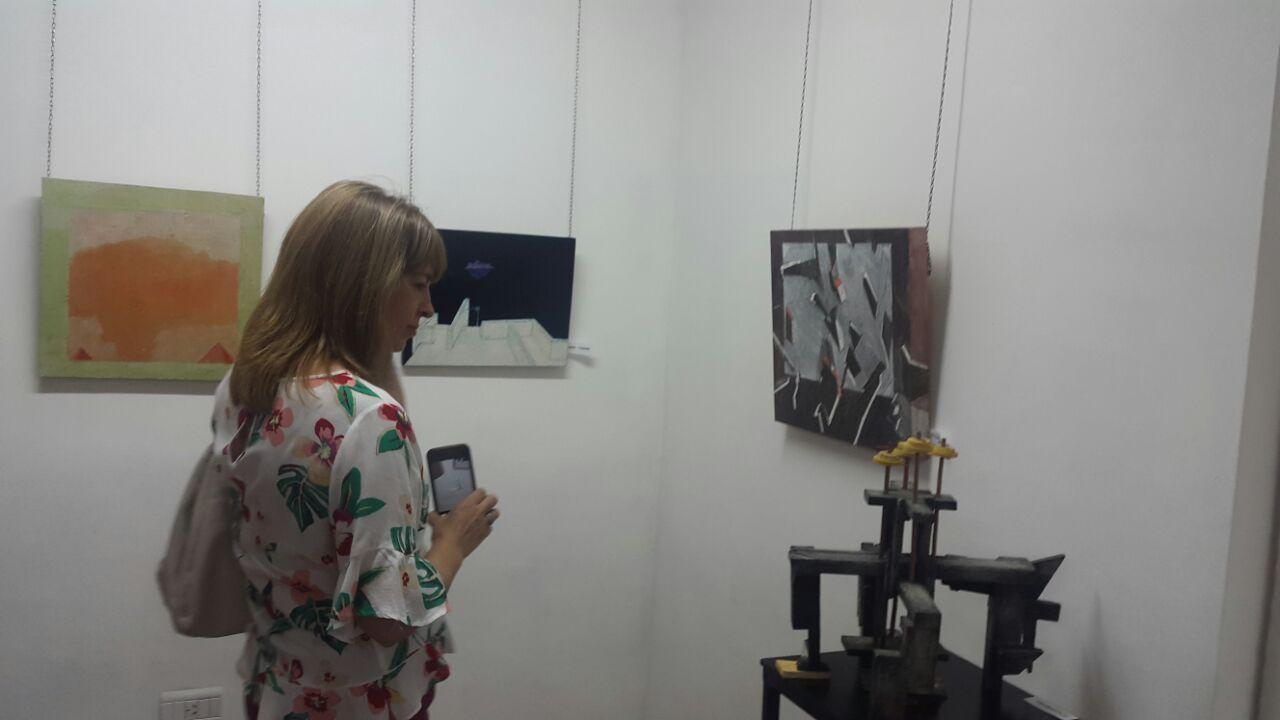 Inauguración de la Muestra de Pinturas y Objetos de Álvaro Gatti