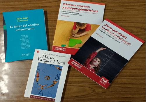 Compra de Libros – Abril