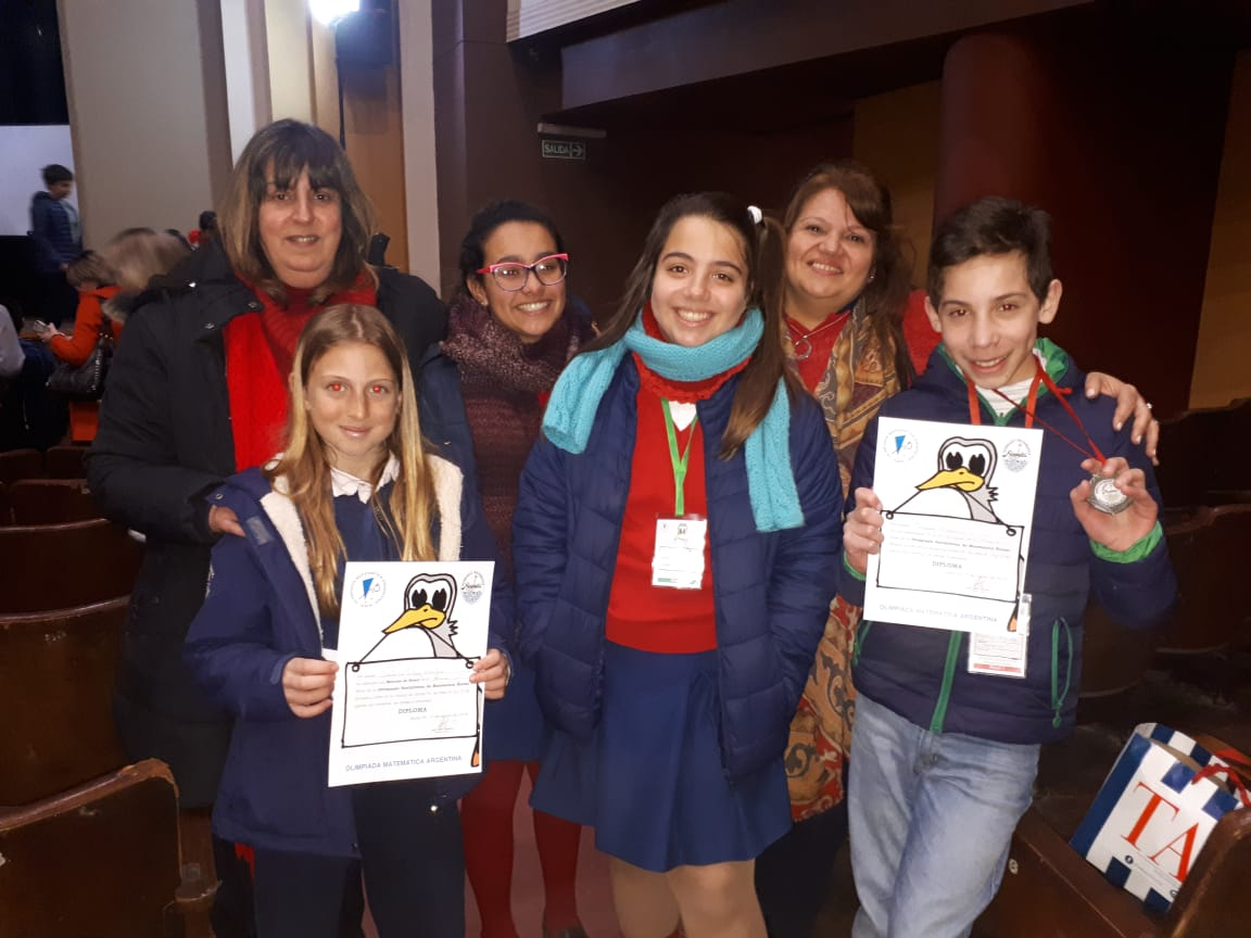 Premiación de Olimpíadas Matemáticas Ñandu – Instancia Provincial