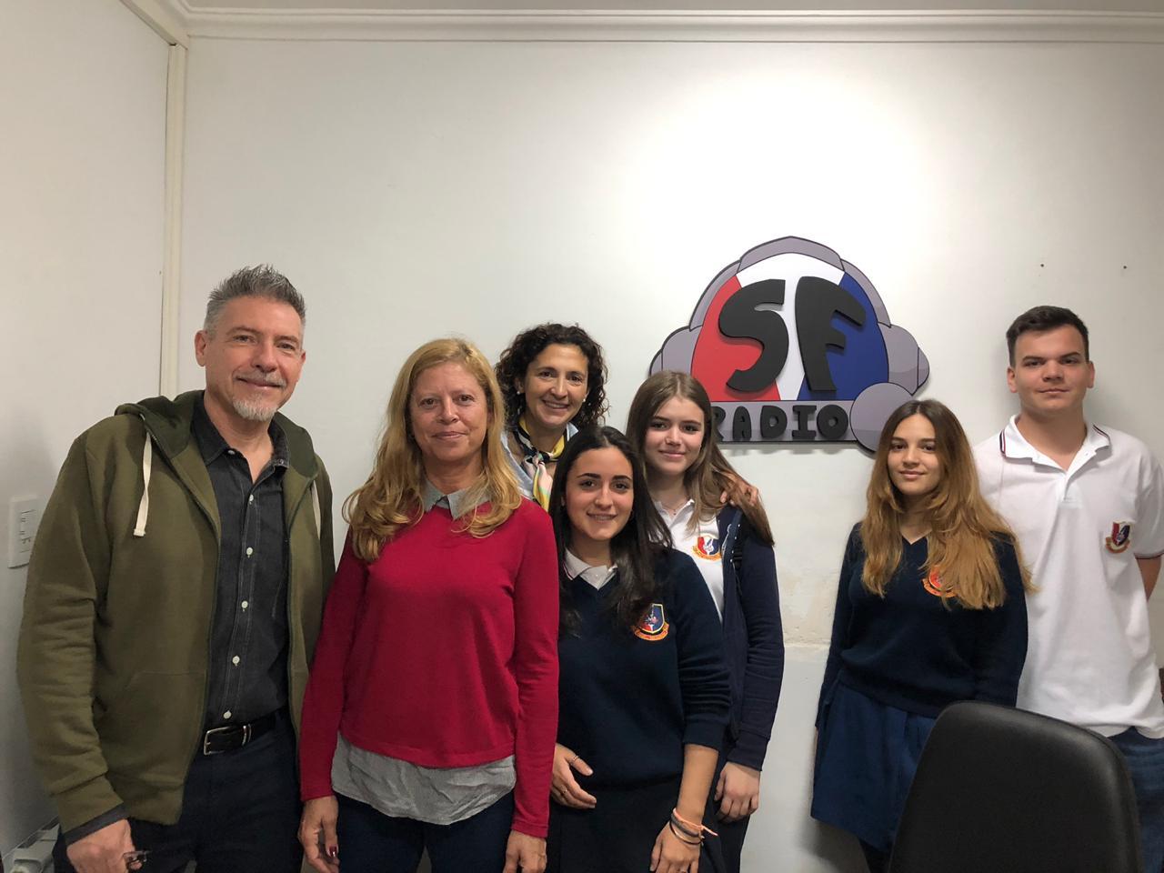 Primer programa de SF Radio con participación de padres