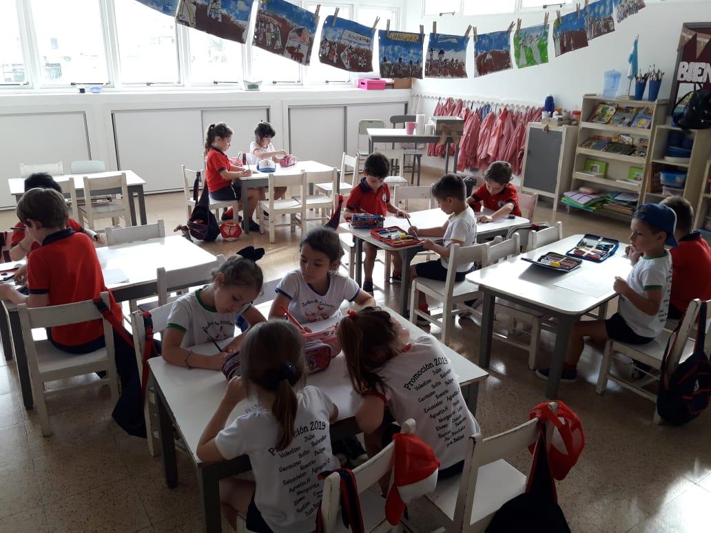 Dibujos sobre experiencias de Inglés